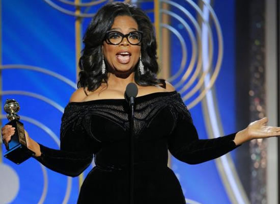 I want all the girls watching to know a new day is on the horizon, says Oprah Winfrey!