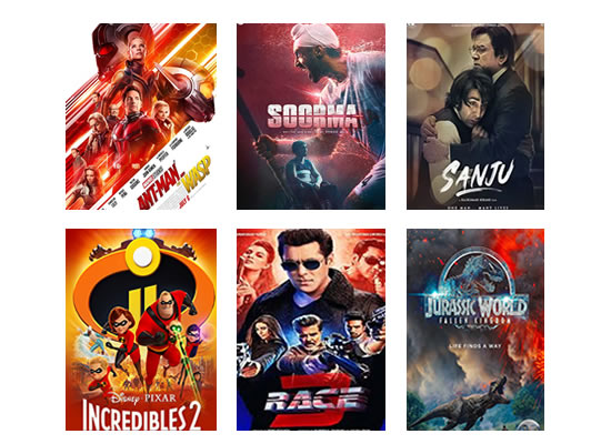 Latest Box Office for this week till 19th July, 2018!