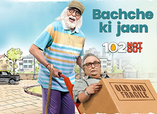 Bachche Ki Jaan Song of film 102 Not Out at No. 2 from 13th April to 19th April!