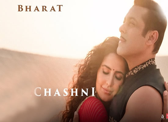 Chashni Song of film Bharat at No. 3 from 31st May to 6th June!