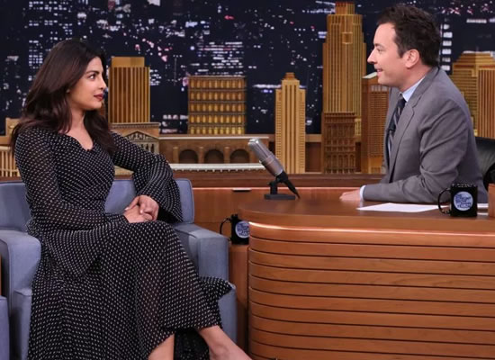 Priyanka to appear on The Tonight Show Starring Jimmy Fallon for Quantico season 3!
