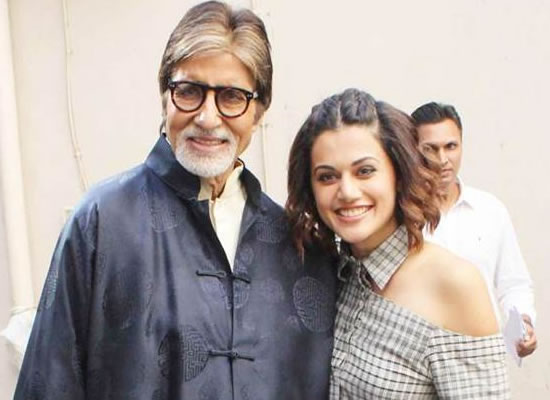 Big B and Taapsee starrer Badla to go on floors in June!