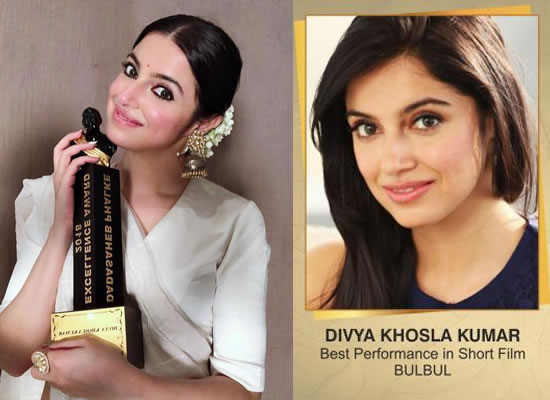 Divya Khosla Kumar wins Dadasaheb Phalke Award for a short film Bulbul!