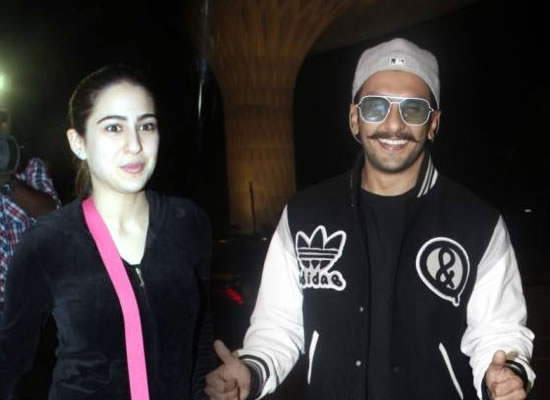 Ranveer Singh and Sara Ali Khan head to Switzerland for Simmba!