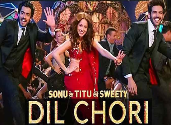 Dil Chori song of film Sonu Ke Titu Ki Sweety at No. 1 from 9th Feb to 15th Feb!