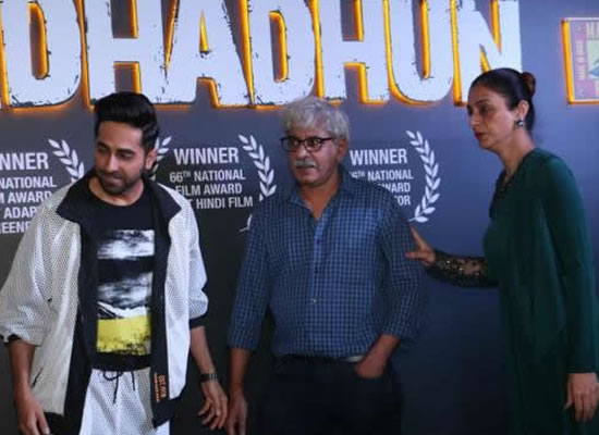 Ayushmann and Tabu to celebrate Andhadhun's win at the National Film Awards!