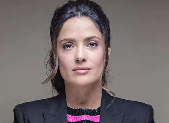 Highly paid male stars should take pay cut, says Salma Hayek!