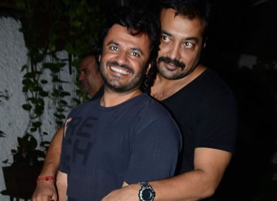 Anurag Kashyap opens up about his equation with Vikas Bahl!