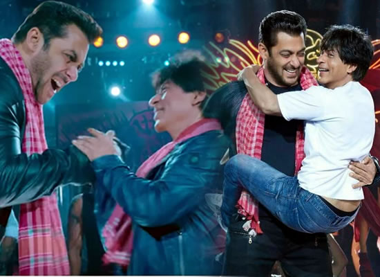 Salman Khan's sizzling chemistry with SRK in film Zero!