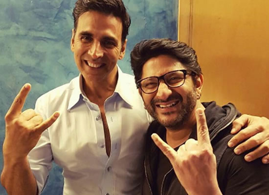 Akshay Kumar and Arshad Warsi come together for Jolly LLB 3?