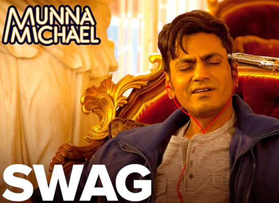 Swag song of film Munna Michael at No. 1 from 14th July to 20th July!