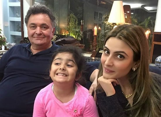 Riddhima Kapoor Sahni opens up about her father Rishi Kapoor's health!