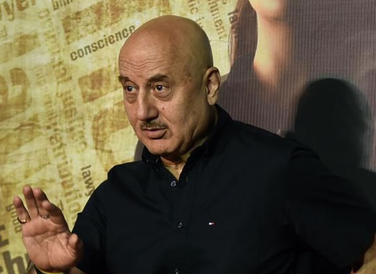 Anupam Kher talks about his biopic!