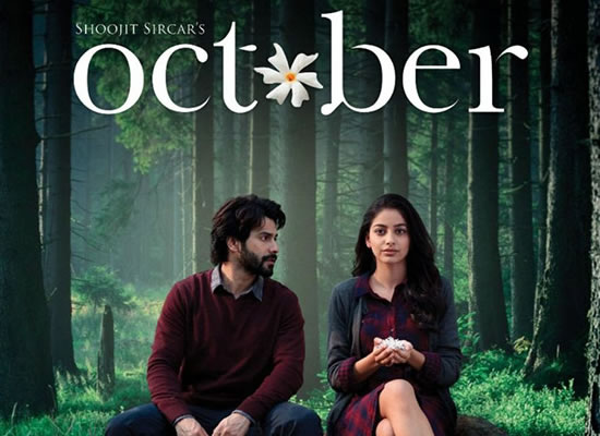 The soundtrack of October is an average one with a melodious Theher Ja.
