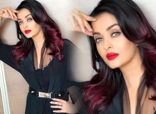 Aishwarya Rai Bachchan's eternal black avatar!