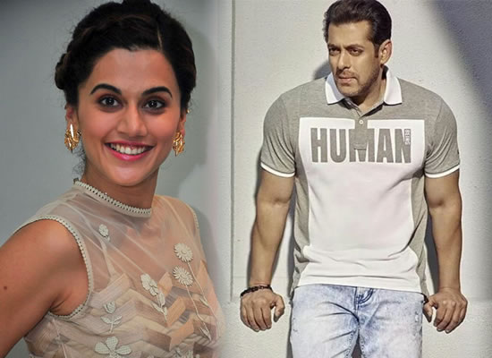 It was that crazy star-struck moment for me, says Taapsee Pannu on meeting Salman!