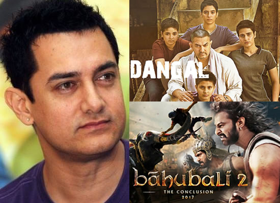 I feel there shouldn't be a comparison between Dangal and Baahubali 2, says Aamir Khan!