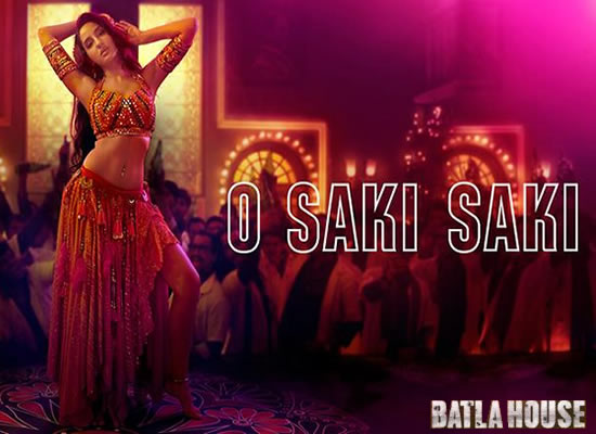 O Saki Saki song of film Batla House at No. 2 from 2nd Aug to 8th Aug!