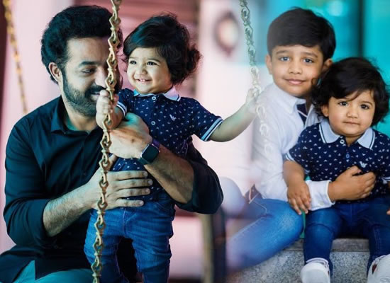 Junior NTR to share younger son Bhargav Ram's lovely snap on his 1st birthday!