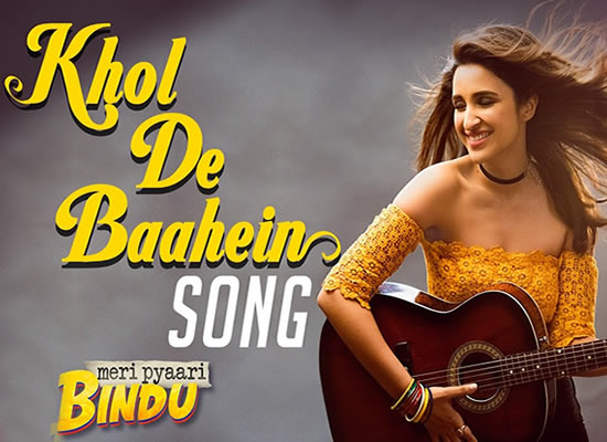Khol De Baahein song of film Meri Pyaari Bindu at No. 1 from 12th May to 18th May!