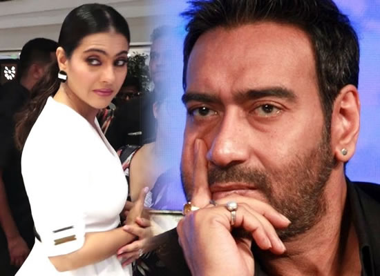Angry Kajol's fitting reply for Ajay Devgn's recent pranks!