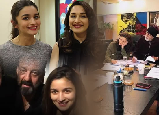 Alia Bhatt feels grateful in presence of biggies like Big B, Sanjay Dutt and Madhuri Dixit!