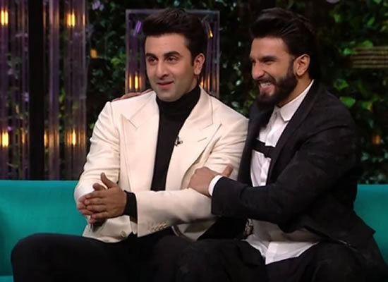 Ranveer Singh opens up about relationship advice to Ranbir Kapoor!