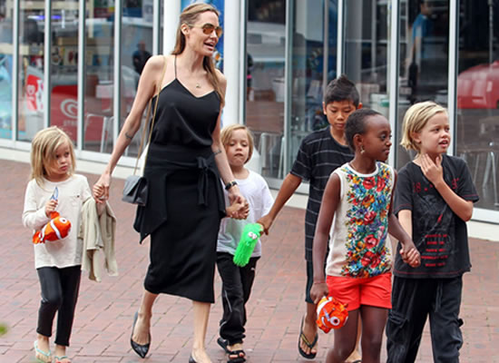 I think a lot of moms don't really rest, says Angelina Jolie!