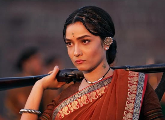 Ankita Lokhande's fierce avatar as Jhalkari Bai in Manikarnika!