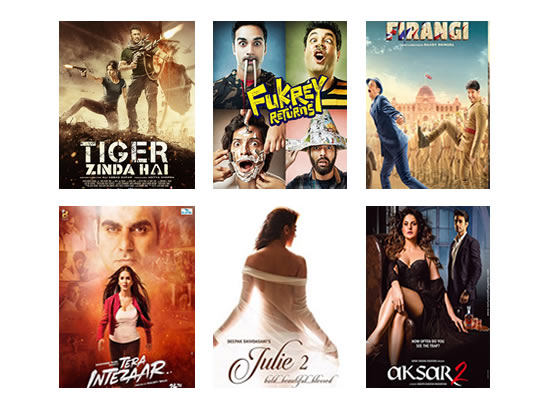 Latest Box Office for this week till 28th December, 2017!