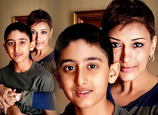 Sonali Bendre's heartful message for her 12-year-old son Ranveer!
