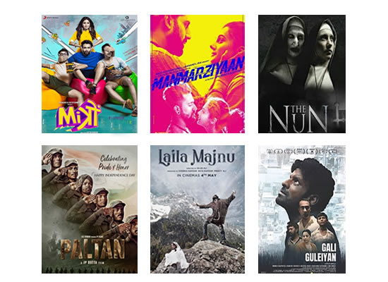 Latest Box Office for this week till 21st September, 2018!