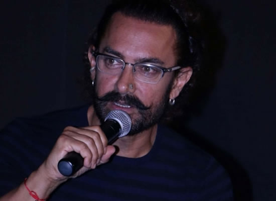 Secret Superstar has many secret superstars, says Aamir Khan!
