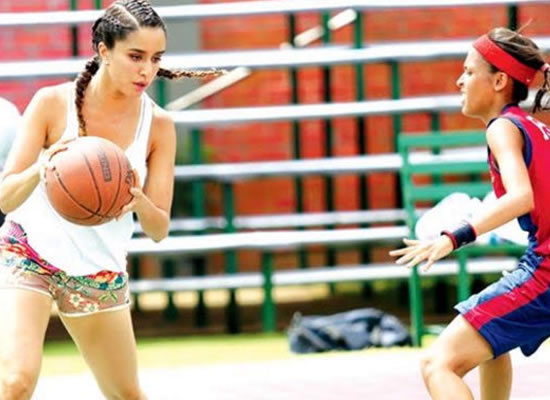 Shraddha transformed into a badass basketball player for Half Girlfriend!