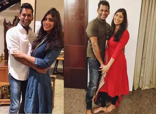 Tamil star Vishal to marry Anisha Alla Reddy in March!