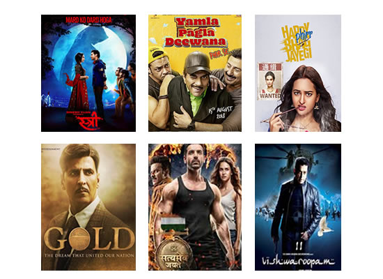 Latest Box Office for this week till 6th September, 2018!
