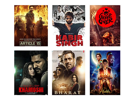 Latest Box Office for this week till 4th July, 2019!