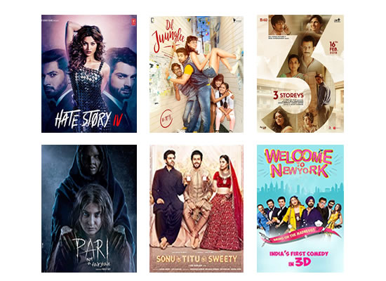 Latest Box Office for this week till 13th March, 2018!