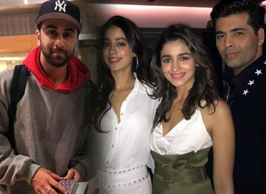 Karan Johar's wish to cast Ranbir, Alia and Janhvi in Kuch Kuch Hota Hai 2!