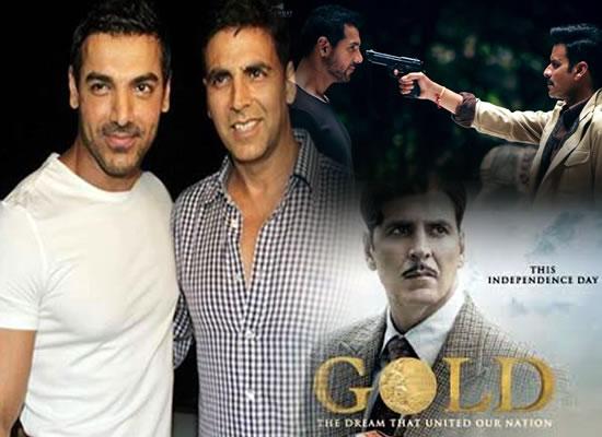 John Abraham opens up on box office clash of Satyameva Jayate with Akshay Kumar starrer Gold!