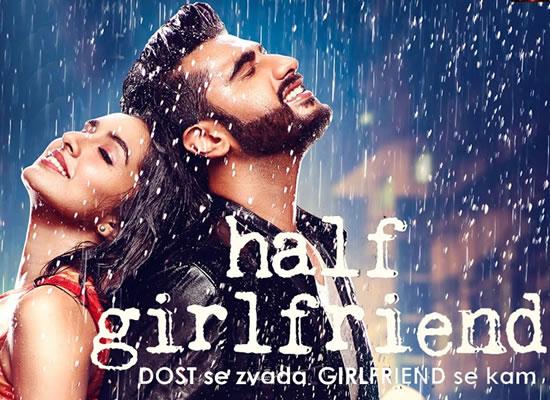 Film Half Girlfriend's music is pleasant and tuneful with songs Mere Dil Mein, Phir Bhi Tumko Chaahu