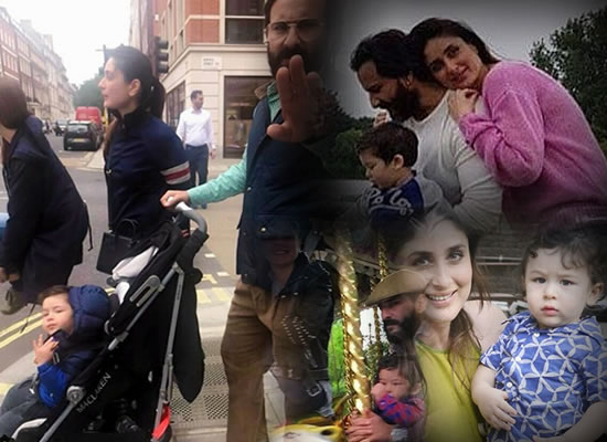 Saif Ali Khan's perfect family picture with Taimur and Kareena!