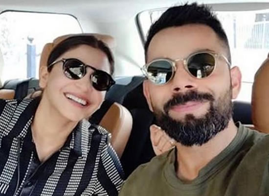 Virat Kohli and Anushka Sharma's lovely selfie before Valentine day!