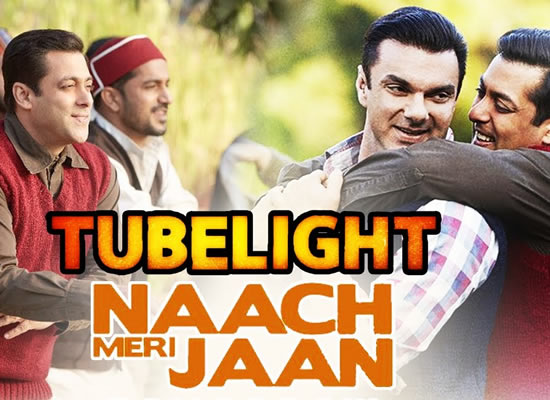 Naach Meri Jaan song of film Tubelight at No. 2 from 9th June to 15th June!
