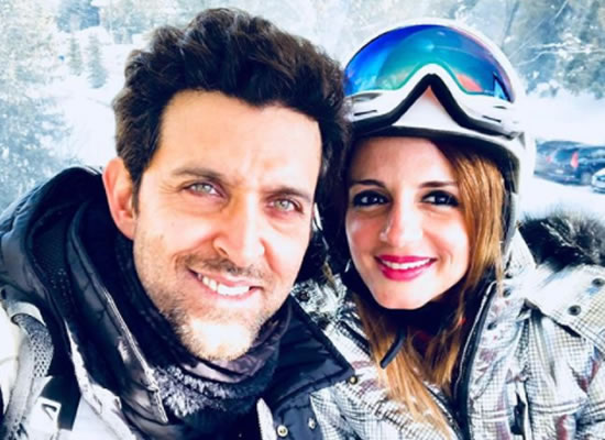 Ex-wife Sussanne's endearing birthday message for Hrithik!