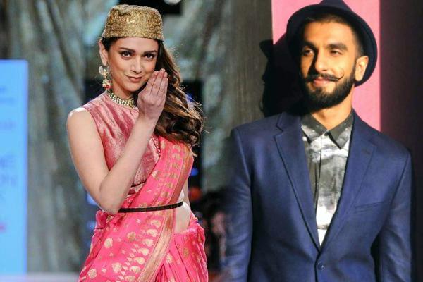 Aditi Rao Hydari to essay Ranveer Singh's love interest in Padmavati?