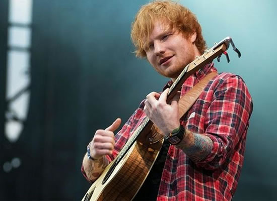 I was an unfortunate looking kid, says Ed Sheeran!