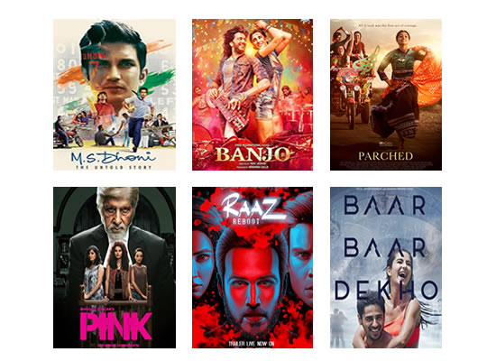 Box Office for the latest week -  3rd October, 2016