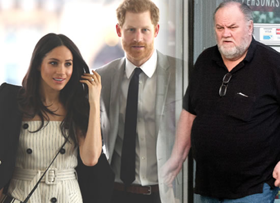 Meghan Markle's father will not attend Royal Wedding!