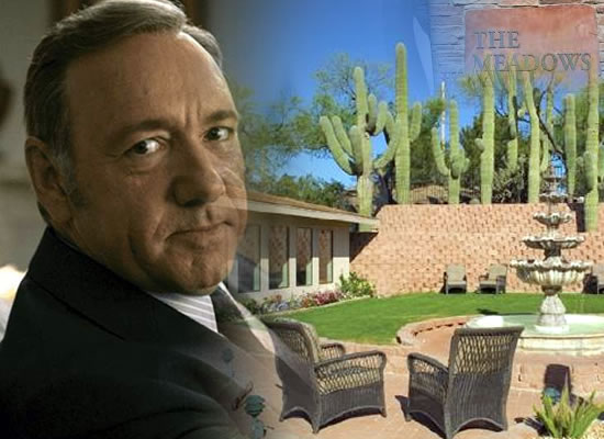 Kevin Spacey enters sex addiction rehab program at Meadows!